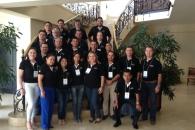 Força de vendas reunida no Panamá