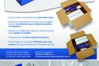 Kit de peças Assistência Técnica Cisa