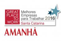 1 - Melhores Empresas para Trabalhar 2016 – Santa Catarina